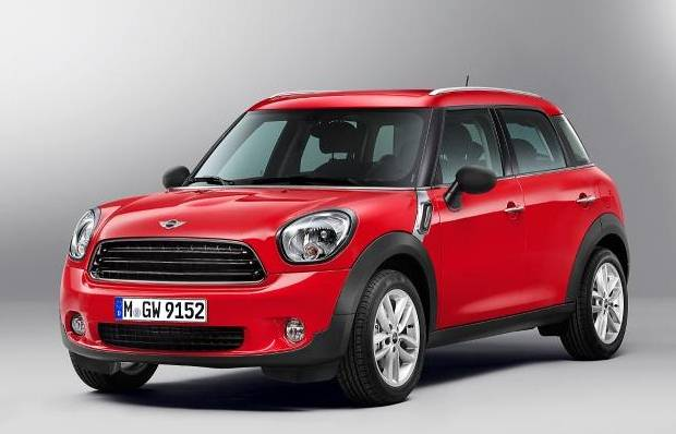 Mini Cooper Countryman Front