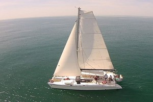 Luxury Catamaran For Charter From Marbella